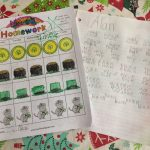 Kindergarten Weekend Homework