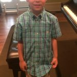 Alan's First Piano Recital